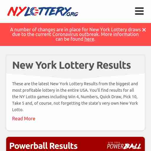 Results nylottery.org