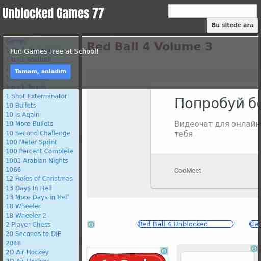 Red Ball 4 Volume 4 Unblocked Games